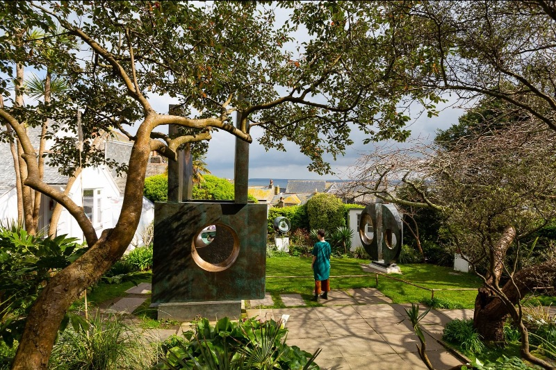 Image Barbara Hepworth Museum and Sculpture Garden copyright Tate - Sail Lofts - St Ives