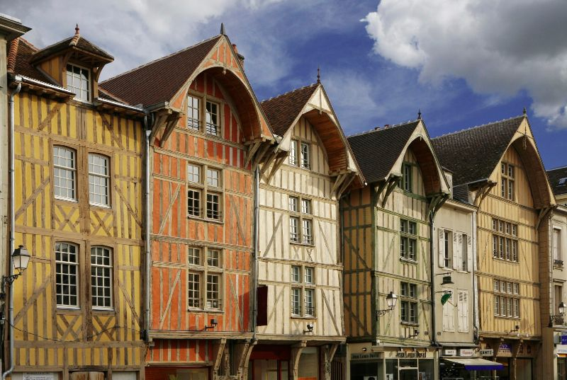 Image of Troyes courtesy of D Le Neve - Active Champagne