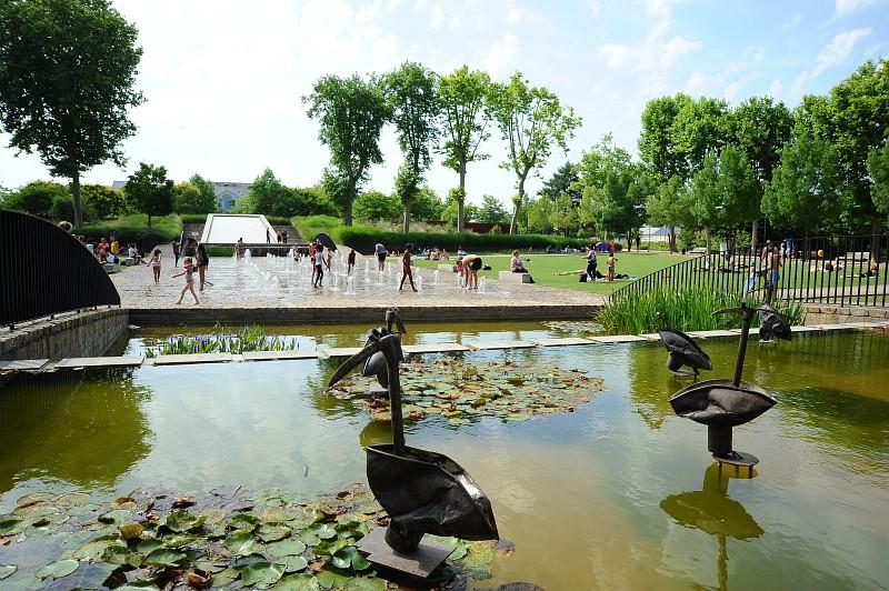 The Loir - Image courtesy of Ville du Mans