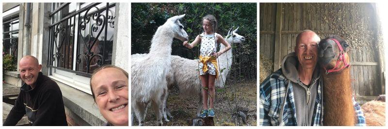 The Loir - Images courtesy of The Loire Valley Llama Farm